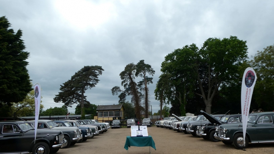 Avenue of P4's at Bressingham 2019.
