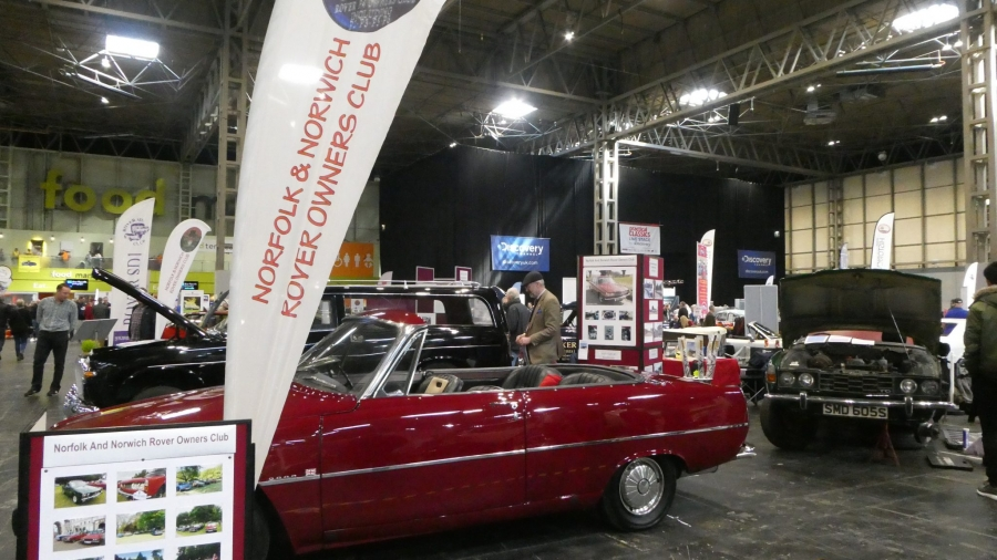 P6 Open Top at the NEC Restoration Show March 2019.