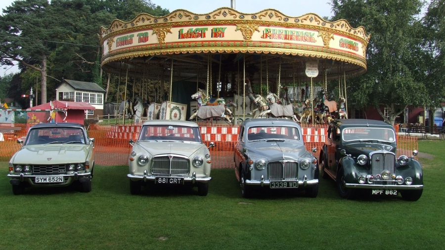 Club cars at Bressingham