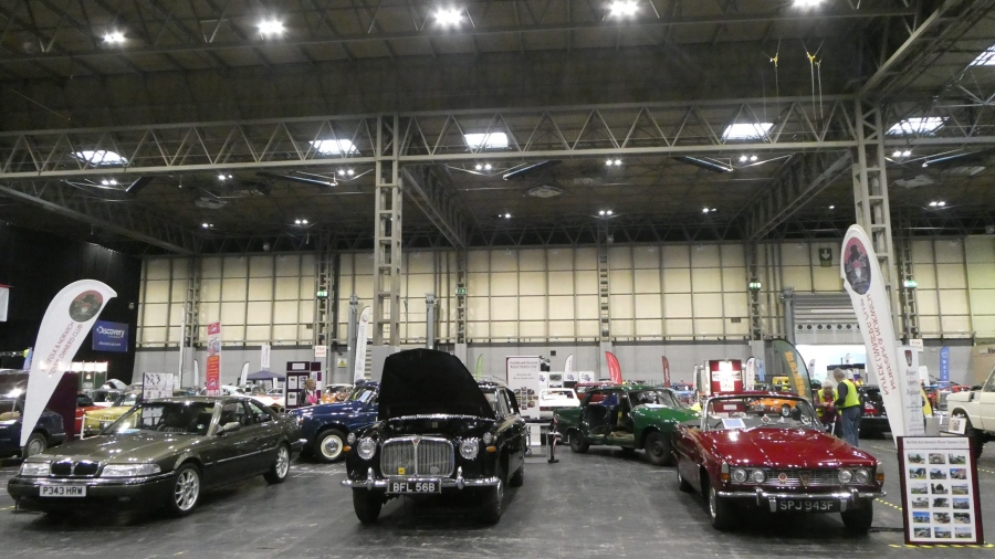 Club stand at the NEC Restoration Show March 2019.