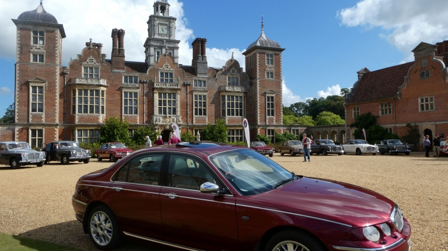 75 on display at Blickling Hall September 2019.